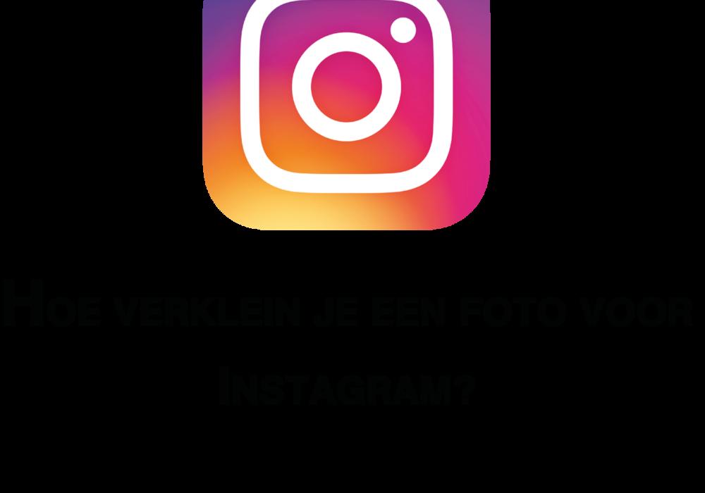 Hoe verklein je een foto voor Instagram