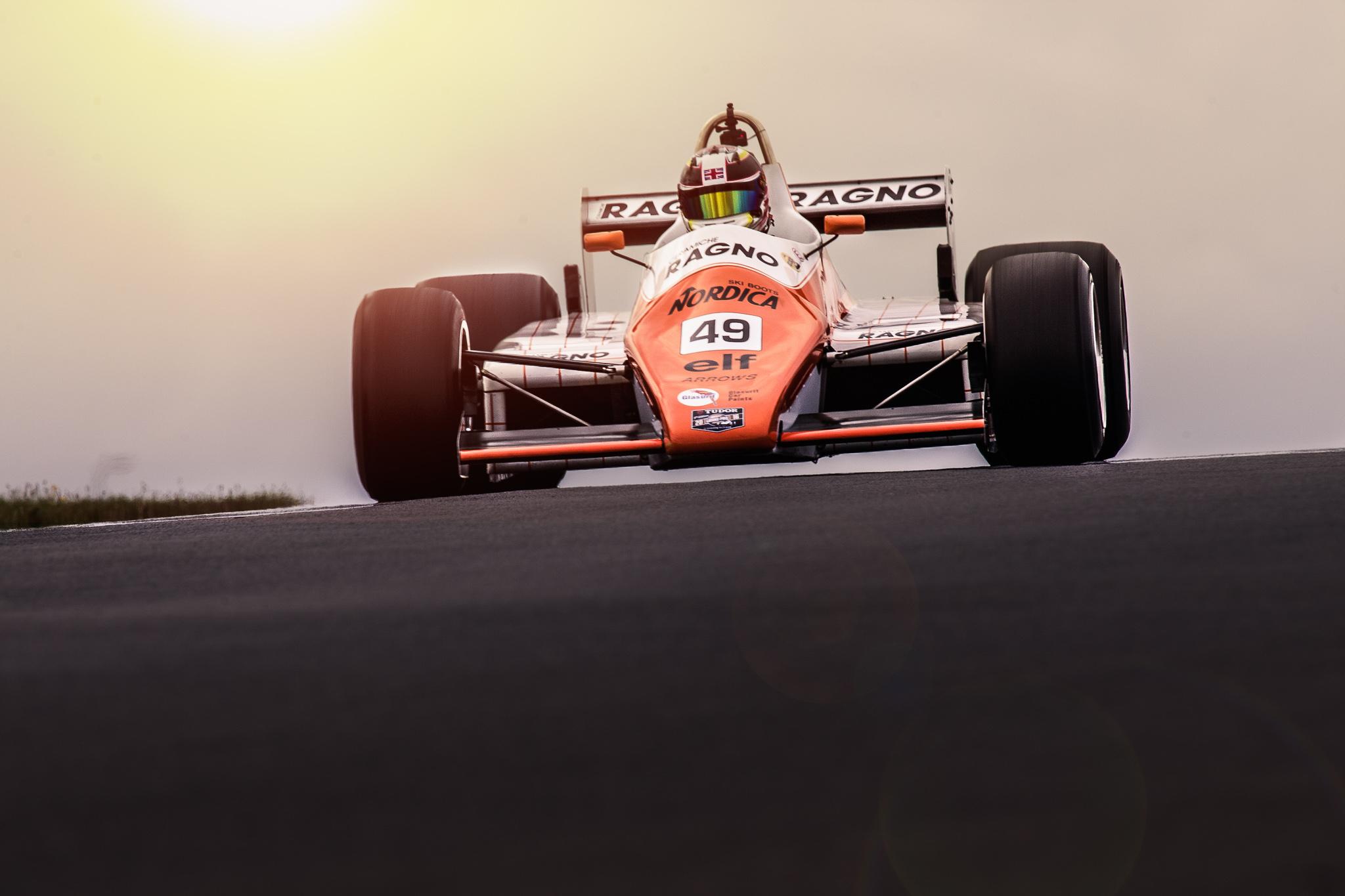 Historic grand prix Zandvoort winnaar 2016